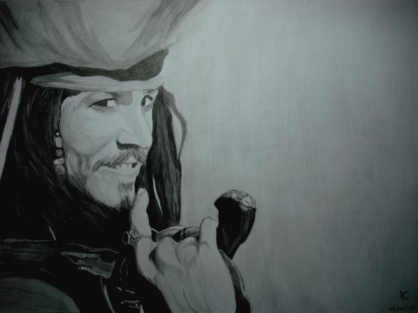 Johnny Depp by Ikigami